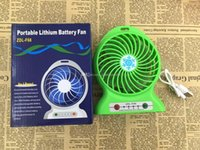 Wholesale New Portable Outdoor Fan Travel Fan Mini Electric Fan with Strong Wind Rechargeable Lithium Battery Torch