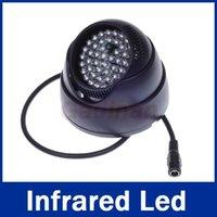 Wholesale 48 LED illuminator Light IR Infrared Night Vision Assist LED Lamp For CCTV Surveillance Camera
