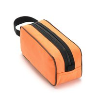 Wholesale Han Edition Single Orange Visible Transparent Gauze of Portable Hand Wash Gargle Bag to Receive Bag g