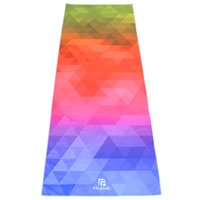 Wholesale REAMIC New arrival yoga mat towel microfiber movement multifunctional environmental protection breathable absorbent blankets