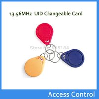 Wholesale RFID smart nfc tags Repeated write MHZ IC keyfob can repeated UID CARDS for reader recording and overwriting sector code