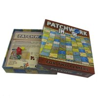 Wholesale Patchwork Board Game for two players funny party games paper cards