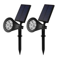 best solar landscape lights - Best Hotselling Solar Lights led Waterproof LED Spotlights for Outdoor Wall Garden Lawn Patio Landscape light