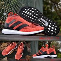 ace buckle - 10 Colours With Original Box ACE16 ACE PureControl Ultra Boost Orange Black White Men Shoes Kids Casual Shoes Size