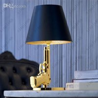 Wholesale Flos Guns Bedside Gun table lamp modern light Philippe Starck design lving room bedroom table lighting desk light