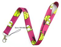 animation cells - Cartoon Animation Necklace Strap Lanyards Cell Phone PDA Key ID Strap Charms L011