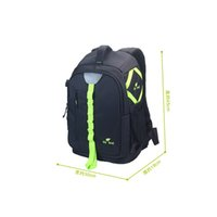 bear proof bag - Fly Leaf Camera bag Black body with Bright Green color shock proof water repellent theft proof YKK zipper raised bearing points bac