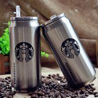 beverage straws - 2016 New ml starbuck beverage can stainless steel starbucks mugs with straws vs yeti tumbler rambler