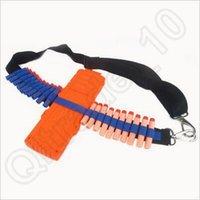 belt bullet holder - 100pcs CCA3684 EVA Bullet Strap Toy Gun Soft Belt Shoulder Strap Clip Charger Darts Ammo Storage For Nerf N Strike Blasters Cartridge Holder