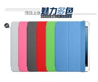 Wholesale Smart Cover Table Holder - Smart Cover PU Leather Case Protection Table PC Sleep work with Stand Holder for ipad Air ipad 2 3 4 5 ipad mini