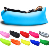 Wholesale Inflatable Lounger Outdoor Air Sofa Indoor Inflatable Chair with Carry Bag Nylon Fabric