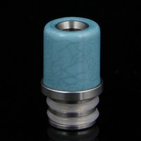 best stainless sink - 510 drip tip heat sink vapor ss black wide bore best new delrin and stainless steel drip tip