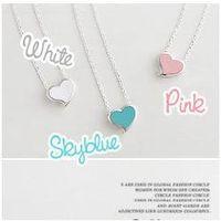 beautiful wild - Jewelry Factory beautiful small fresh exquisite wild sweet love Daren Heart statement Necklace
