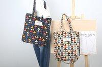 bag crochet patterns - Corduroy Series Shoulder Bag Fancy Designed Casual Bag Students Bag Ladies Handbag Totes shopping Bag Geometric Triangle Pattern Vantage Bag