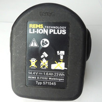 Wholesale Original REMS D V mAh Li ion Power Tools Slide Battery Pack Ah Cordless Drill Battery