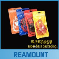 abs earphone cable - 500pcs Colorful Blank Plastic PVC Zipper Lock Gift Packaging Bags For Jewelry Earphone USB Cable For iPhone s s Samsung Note