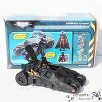 action figures batmobile - 1 Set CM CM Batman Dark Knight Batmobile Tumbler Vehicle And Batman pvc Action Figure Toys