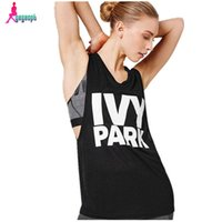 Wholesale Gagaopt IVY PARK T shirt Women Sleeveless Sport T Shirt Casual Tee Shirt Femme Camisetas Mujer American Apparel T0540