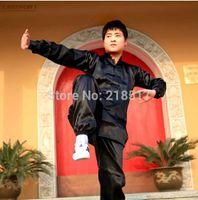 art chi - Kung Fu Suit Men Martial Art Jacket Pants Set Tai Chi Uniform Traditional Chinese Style Sport Wear S M L XL XXL