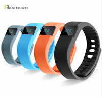 active tracker - 2016 Active Fitness Sport Tracker Bluetooth Smar Bracelet Pedometer Wristbandt For IPhone Samsung Smartband TW64 PK Mi Band