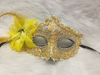 Wholesale 2014 new Venice mask fashion lace diamond leather mask Lily Princess lace mask