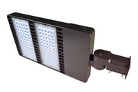 Wholesale ETL DLC listed W MH replacement LED shoebox pole light V V stocked in USA warehouse with year warranty