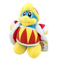 animal kirby plush - 10 quot CM Kirby Triple Deluxe King Dedede Plush Soft Toy Stuffed Animal Doll Teddy Kawaii Kids Stuffed Toys For Children Dolls