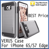 Wholesale V erus Case For iphone Plus Tough Armor cases Heavy Duty Protection Cover for Galaxy S7 S6 edge on5 J5 J7 G360 G530 LG K7 K10 G5