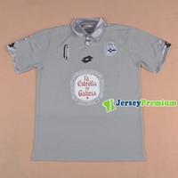 Wholesale 2016 Real Club Deportivo de La Coruna Club Team Third Grey Football Soccer Jerseys Shirt