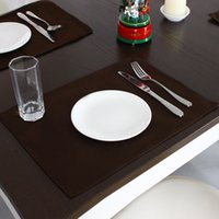 Wholesale 4Pcs High Quality Solid Europe Style Dining Table Mat Set Decoracao Kitchen Accessories Coffee Kitchenware Placemat