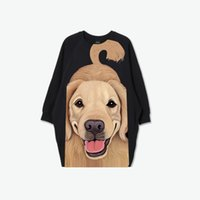 animal fee - original cat and dog beach loose short sleeve plus size round neck blousing blouse Mailing fee included
