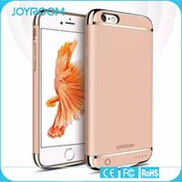 backup for iphone - JOYROOM External Backup Battery Charger Case Power Case Phone Accessories For iphone S plus S plus