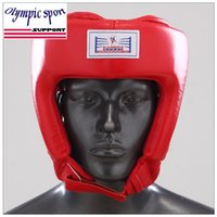 Wholesale 2016 New Professional PU Boxing Helmet Head gear Head Protector S M L