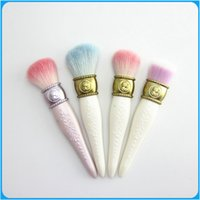 best cheek brush - Factory outlets Best quality Les Merveilleuses de Laduree Limited Cheek Brush Foundation Blush Cheek Powder Brush DHL free