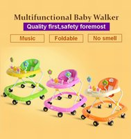 auto carrier - multifunctional baby walkers auto safe lock music foldable baby walker with wheels baby stroller baby carrier