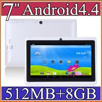 Android 4.4 epad - 7 inch GB MB Capacitive Allwinner A33 Quad Core Android dual camera Tablet PC WiFi EPAD Youtube Facebook A PB