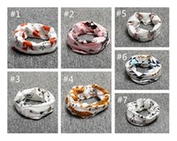 Wholesale 2016 Cute Newborn Animal Scarves Kids Baby Neck Warmer Ring Wraps Toddler Fox Tiger Panda Geometry Print Design Scarf
