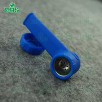 Wholesale Silicone Creative Smoking Pipe Glass Water Pipes Acrylic Bongs Tabacco Shisha Pipe water pipe