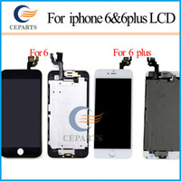 apple iphone buttons - Full set for Apple iPhone for iphone Plus LCD Display Touch Screen Digitizer Assembly Front Camera Home Button with DHL