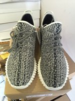 Wholesale Best Quality Boosts Pirate Black Boosts Turtle Dove Gray Sneaker Oxford Tan Moonrock Boosts Shipping via DHL