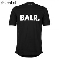 Wholesale High quality NEW fashion summer style balr t shirt men women short sleeve NL luxury brand clothin round bottom long back t shirt