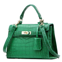 Wholesale 2015 hot sales designer crocodile leather women handbag shoulder bag cross body handbag from factory best price and quality