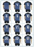 army uniforms - Top Fast Uniforms Kit Soccer Jersey Internazionale Milan MEDEL Podolski ICARDI KOVACIC Blue Home Jerseys shirt