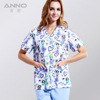 Wholesale 2016 Medical clothing matching unisex comfortable and breathable natural uniformes hospital work clothing nursing scurbs set