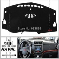 Wholesale Dashboard mat dark visor keeps sun Embroidery section For Great Wall H6