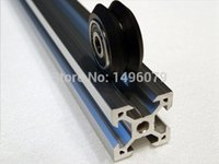 Wholesale V slot rail aluminum profile extrusion cm Cutted CNC machine building Part Holder