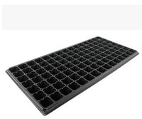 Nursery Pots - garden supplies Hot sale Seedling tray sprout plate105 holes nursery pots tray box meaty special pots