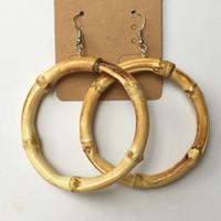 bamboo earings - bamboo earring big round shape earings fashion earing for Unisex Dangle Chandelier mm mm IB7926