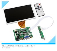 Wholesale 7 Inches Raspberry Pi LCD Display Screen TFT Monitor AT070TN90 with HDMI VGA Input Driver Board Controller