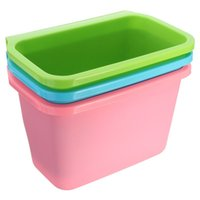 Wholesale Square Kitchen Mini Trash Can Hang Over Cabinet Waste Basket Garbage Rubbish Bin About cm x cm x cm
